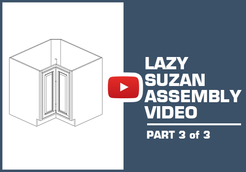 Lazy Susan Capinet Part 3 of 3 - Metal Clip Assembly