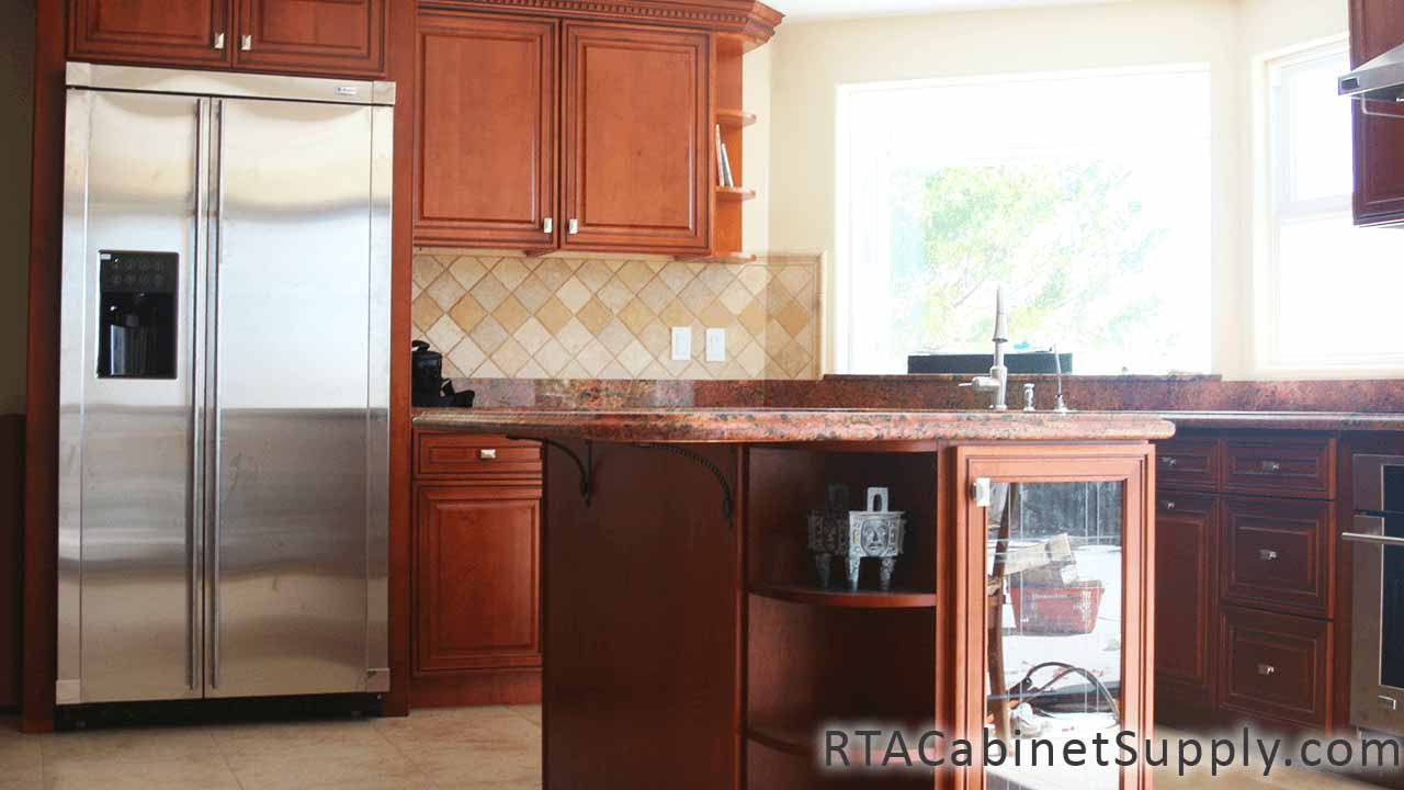 Coventry Toffee Glaze - Pre-Assembled Kitchen Cabinets
