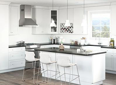 White Kitchen Cabinets Rta Cabinet Supply