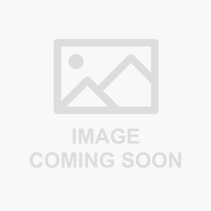 "Chrome Open Closet Bracket for 1-5/16"" Round Closet Rod with 5mm Posts"