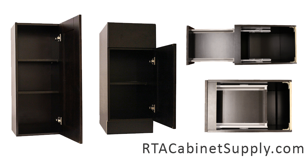 Anchester Espresso Pre Assembled Cabinets Category Pantry Oven Cabinets