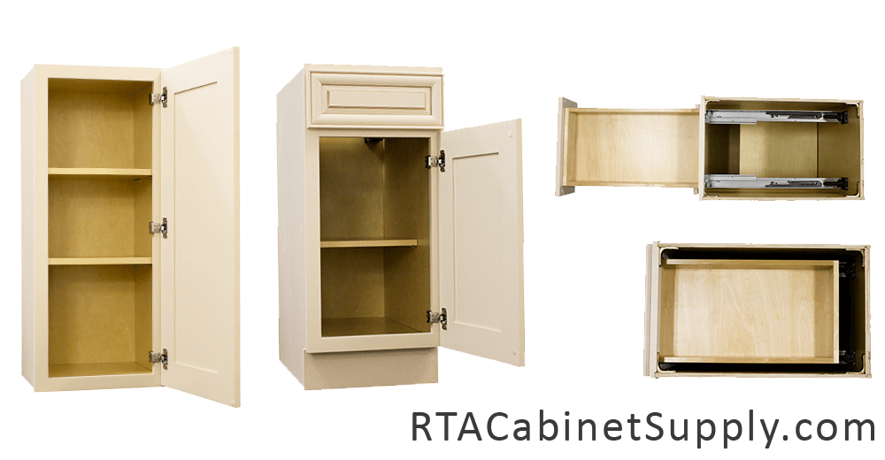 Ivory Glaze Pre Assembled Cabinets Category Pantry Oven Cabinets