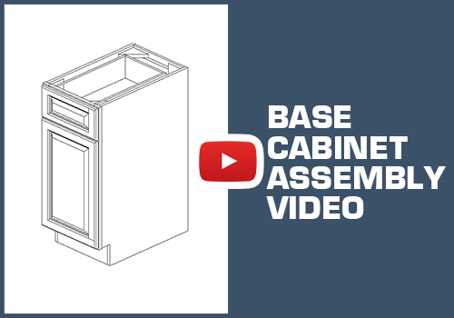Base Cabinet - Metal Clip Assembly
