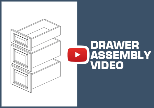 Drawer Assembly - Metal Clip Assembly