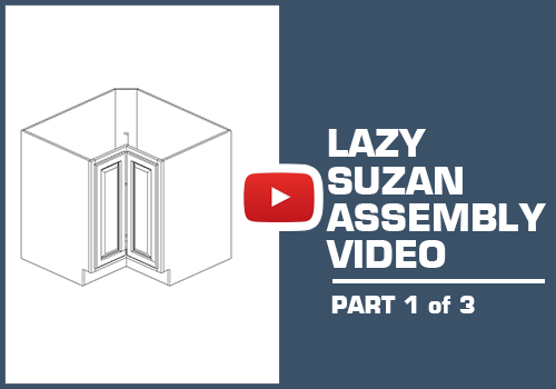 Lazy Susan Capinet Part 1 of 3 - Metal Clip Assembly