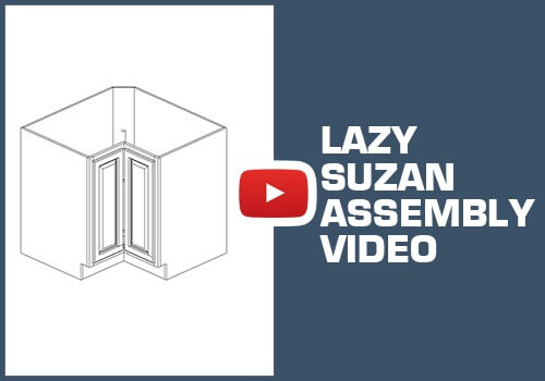Lazy Susan Cabinet - Staple Assembly