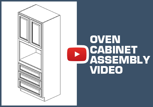 Oven Cabinet - Metal Clip Assembly