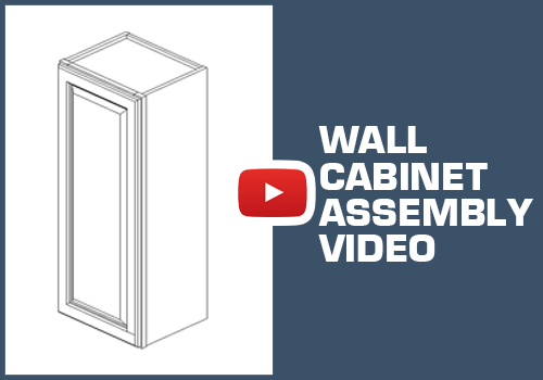 Wall Cabinet - Staple Assembly