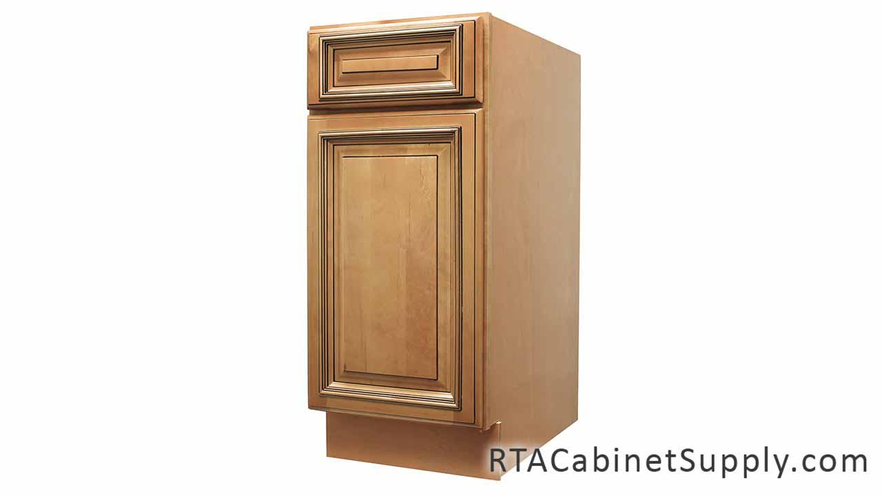 Caramel Glaze Pre Assembled Cabinets Category Pantry