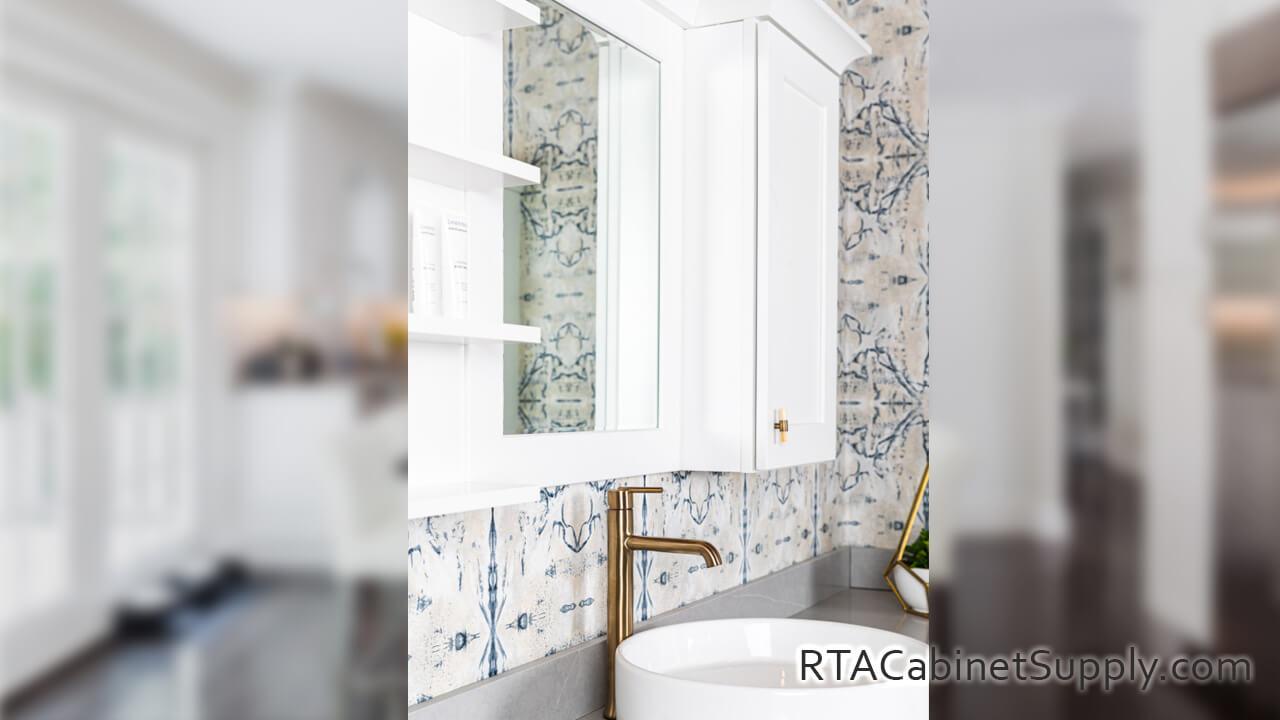 Classic White Shaker Rta Kitchen Cabinet Sets