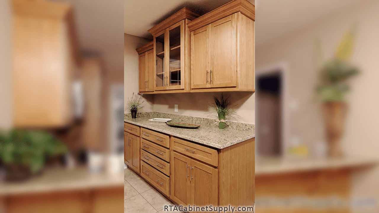 Oak Shaker - Ready to Assemble Cabinets