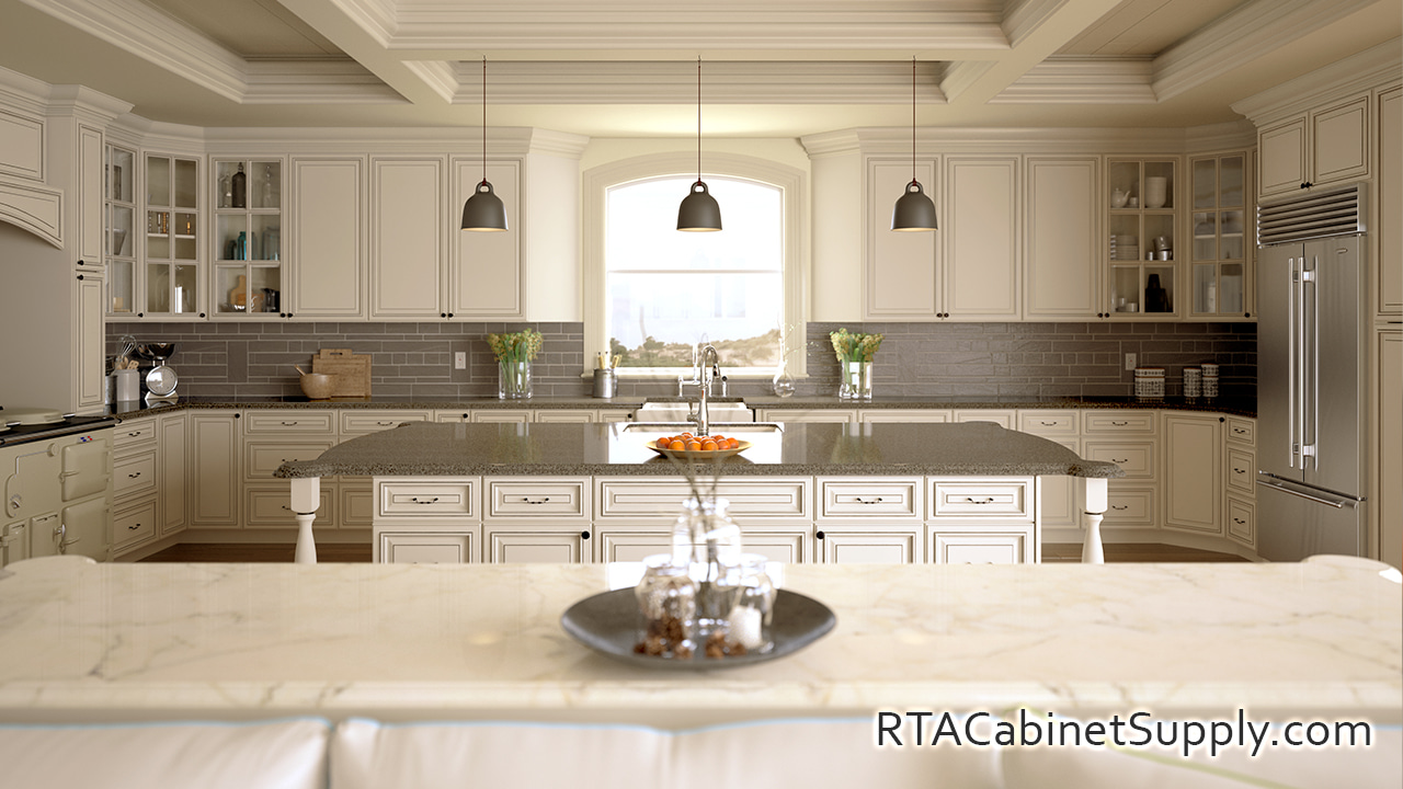 Pearl Glaze 10X10 Kitchen Set RTA